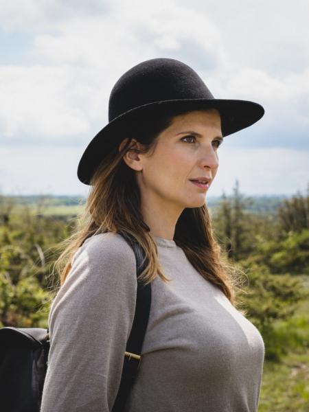 Chapeau Jacou sur femme chez Sac du Berger